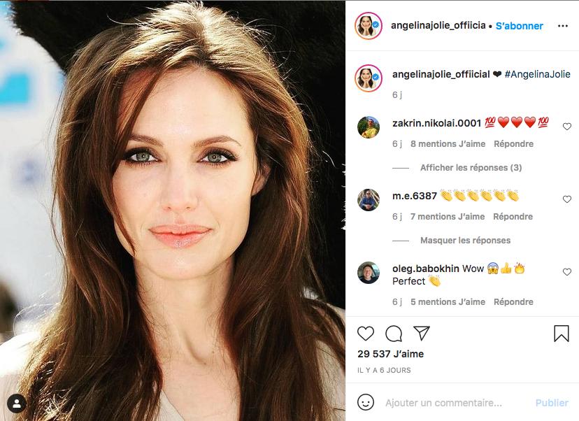 Angelina Jolie victime de violences conjugales.