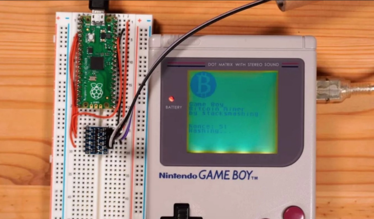 Bitcoin : comment devenir riche avec un GameBoy?